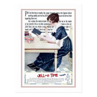"""Cartão Postal 1920 de """"4ns do TEMPO JELLO"""" DA PROPAGANDA de"""