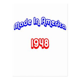 Cartão Postal 1948 fez em América