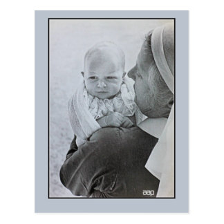 Cartão Postal 1950 Anne, princesa real como um bebê