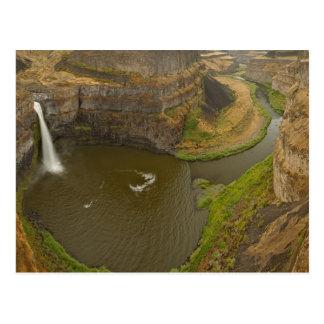 Cartão Postal 200 pés - Palouse alto cai parque estadual dentro