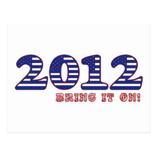 Cartão Postal 2012 traga-o sobre!