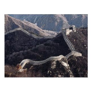 Cartão Postal 227 - O Grande Muralha de China