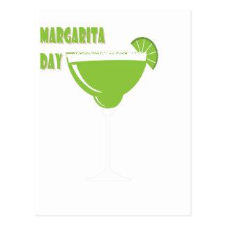 Cartão Postal 22 de fevereiro - dia de Margarita - dia da