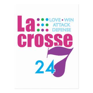 Cartão Postal 24/7 de Lacrosse
