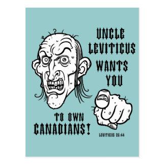 Cartão Postal 25:44 de Leviticus