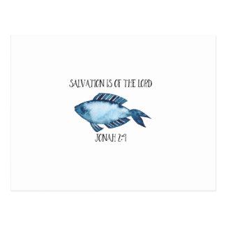 Cartão Postal 2:9 de Jonah