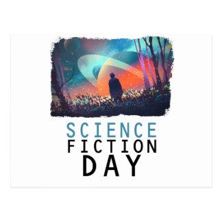 Cartão Postal 2 de fevereiro - dia da ficção científica