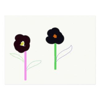 Cartão Postal 2flowers