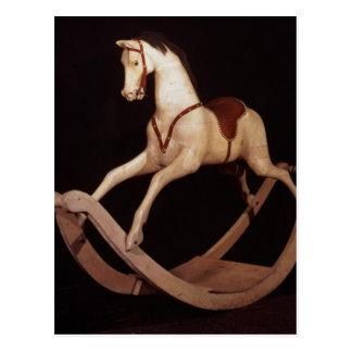 Cartão Postal 31: Cavalo de balanço, inglês, 1840