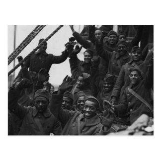 Cartão Postal 369th Regimento de infantaria da guarda nacional