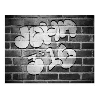Cartão Postal 3:16 de John dos grafites