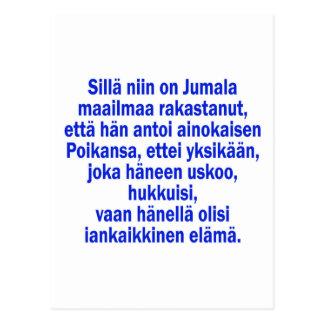Cartão Postal 3:16 de John finlandês