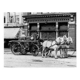 Cartão Postal 3:1911 do motor da união não