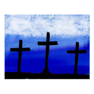 Cartão Postal 3 cruzes