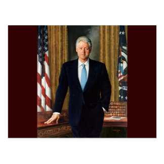 Cartão Postal 42 Bill Clinton