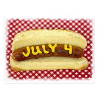 Cartão Postal 4o Do partido de julho