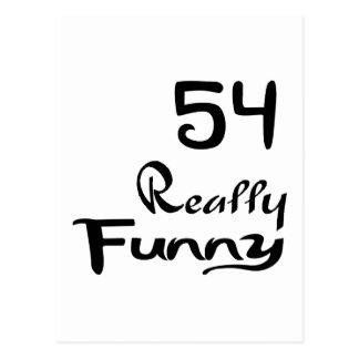 Cartão Postal 54 designs realmente engraçados do aniversário