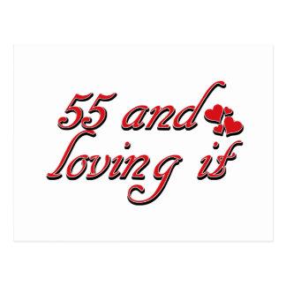 Cartão Postal 55 e amor do