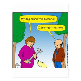 Cartão Postal 566 meu cão encontraram estes desenhos animados