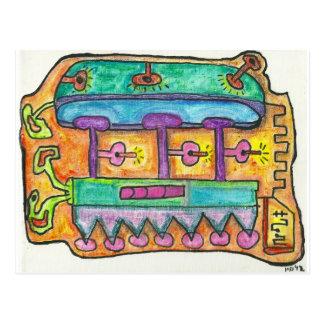 Cartão Postal 5o Céu de SubQuantum
