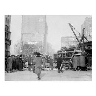 Cartão Postal 5o e Broadway, NYC: 1900s adiantados