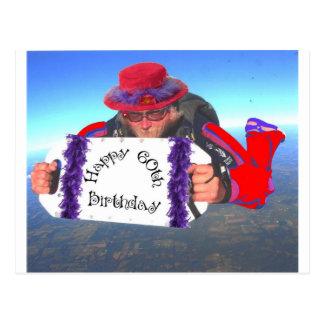 Cartão Postal 60th aniversário feliz