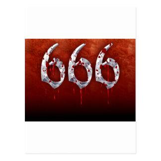 CARTÃO POSTAL 666
