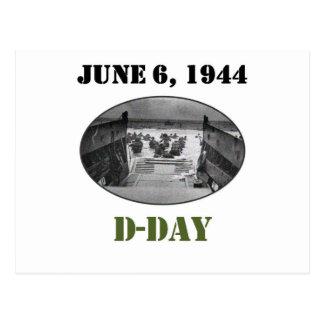 Cartão Postal 6 de junho de 1944: Dia D