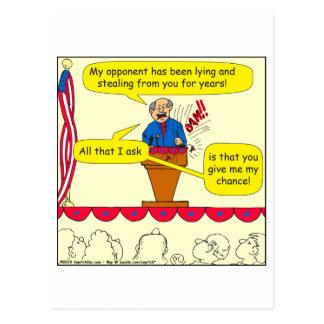 Cartão Postal 751 dá-me uma possibilidade desenhos animados