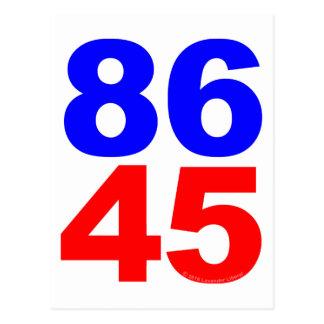 CARTÃO POSTAL 86 45
