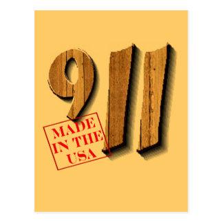 Cartão Postal 911 fez nos EUA