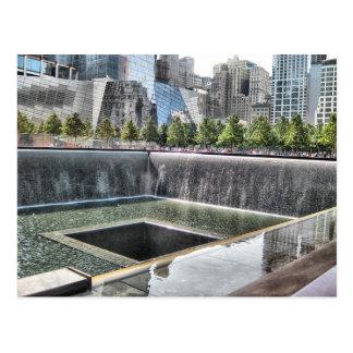 Cartão Postal 9/11 de memorial