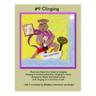 Cartão Postal #9 que adere-se - do aparecimento dependente