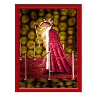 Cartão Postal A abelha de rainha