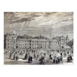 Cartão Postal A abertura da faculdade de Keble, Oxford