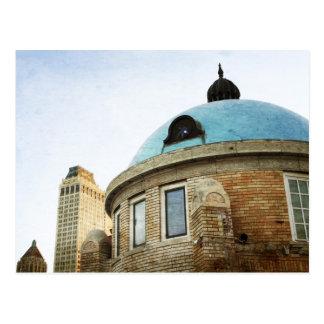 Cartão Postal A abóbada azul de Tulsa