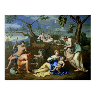 Cartão Postal A alimentação da criança Jupiter, c.1640