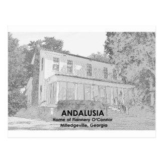 Cartão Postal A Andaluzia - Home de Flannery O'Connor