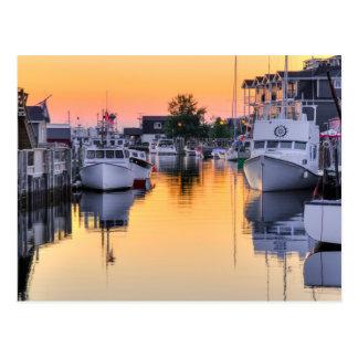 Cartão Postal A angra do pescador, passagem oriental, Nova