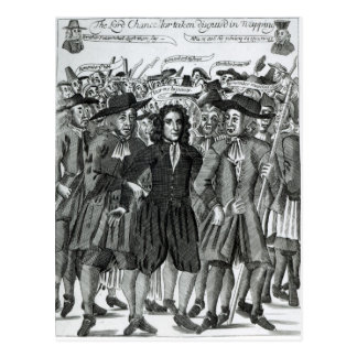 Cartão Postal A apreensão do juiz Jeffreys 1689