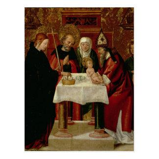 Cartão Postal A apresentação da circuncisão no templo