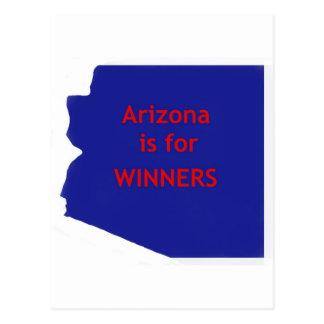 Cartão Postal A arizona é para vencedores