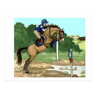 """Cartão Postal A arte do cavalo do Buckskin """"não obtem os dedos"""
