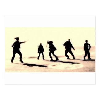 Cartão Postal a arte do streetdance