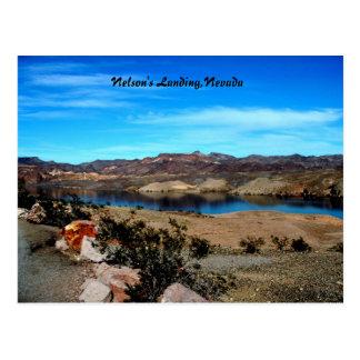 Cartão Postal A aterragem de Nelson, Nevada