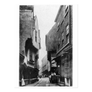 Cartão Postal A balbúrdia 1901