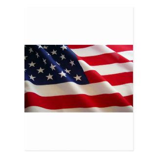 Cartão Postal A bandeira americana