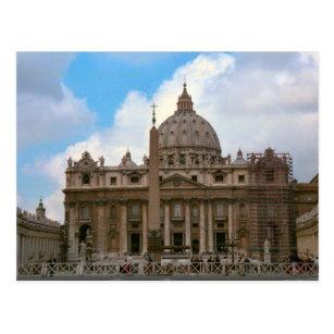 Cartão Postal A basílica de St Peter, vaticano