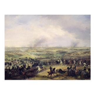 Cartão Postal A batalha de Leipzig, os 16-19 de outubro de 1813