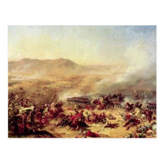 Cartão Postal A batalha de Mont Thabor, o 16 de abril de 1799